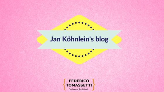 Jan Köhnlein's blog
