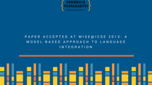 Paper accepted at MiSE@ICSE 2013: A model-based approach to language integration