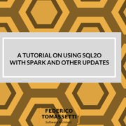 A tutorial on using Sql2o with Spark and other updates
