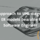 An approach to UML diagrams and ER models bearable for a Software Engineer