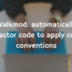 Walkmod: automatically refactor code to apply code conventions