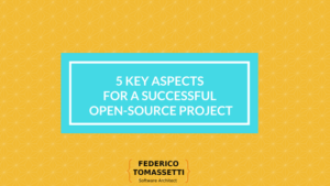 5 key aspects for a successful open-source project