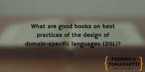 What are good books on best practices of the design of domain-specific languages (DSL)?