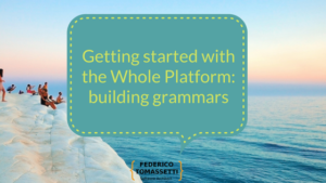 Getting started with the Whole Platform_ building grammars