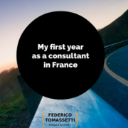 My first year as a consultant in France