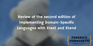 Review of the second edition of Implementing Domain-Specific Languages with Xtext and Xtend