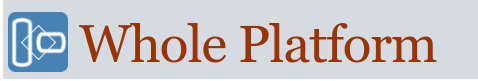the whole platform logo