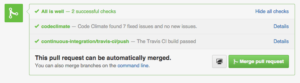CodeClimate integration in GitHub