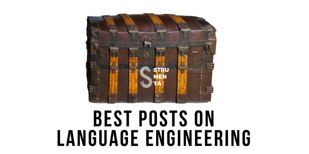 Best posts on Language Engineering