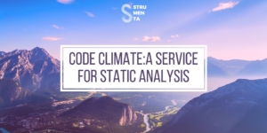 Code Climate: A service for static analysis