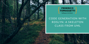 Code Generation with Roslyn: a Skeleton Class from UML
