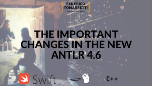 The important changes in the new ANTLR 4.6