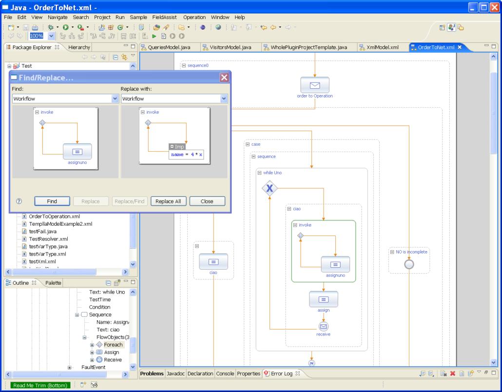 Whole Platform - Graphical Language