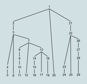 Top-down Parse Tree Order