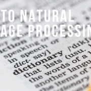 Guide to Natural Language Processing