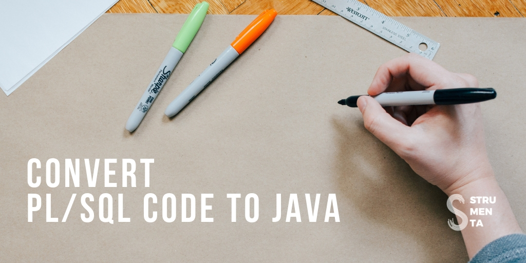 Convert PL/SQL Code to Java